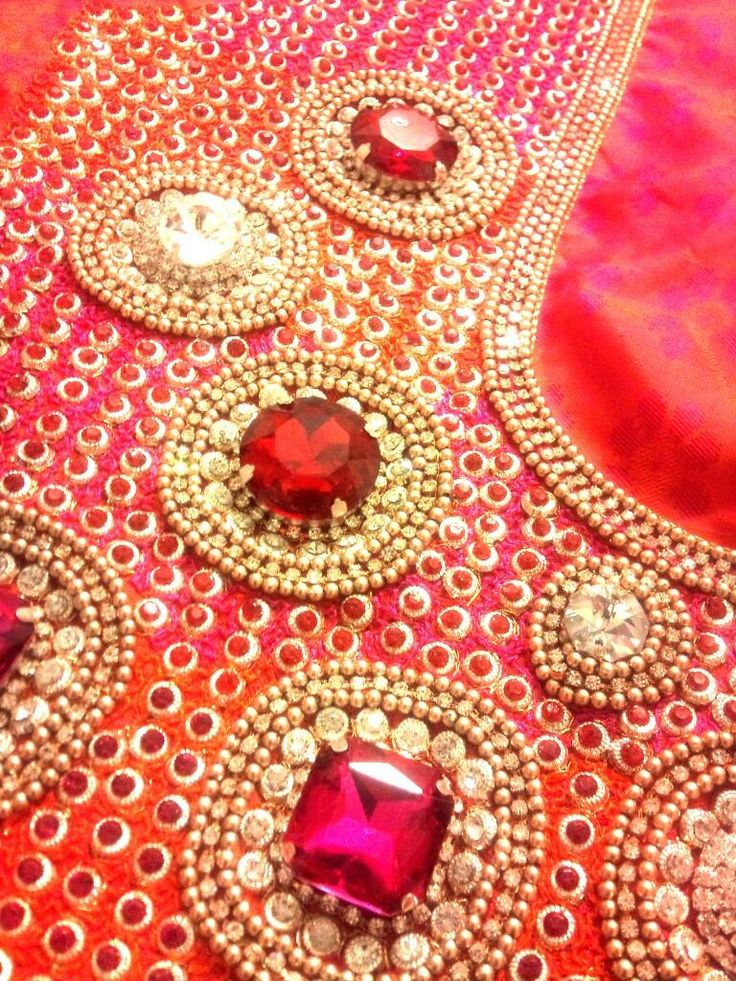 Best maggam blouse images on pinterest