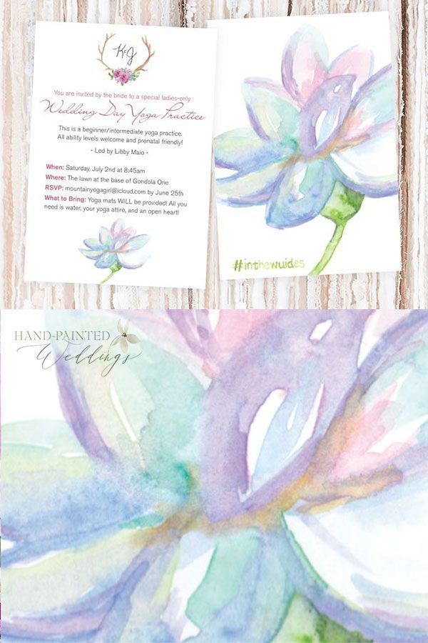 Yoga Wedding Card Wedding Cards Wedding Invitation Design