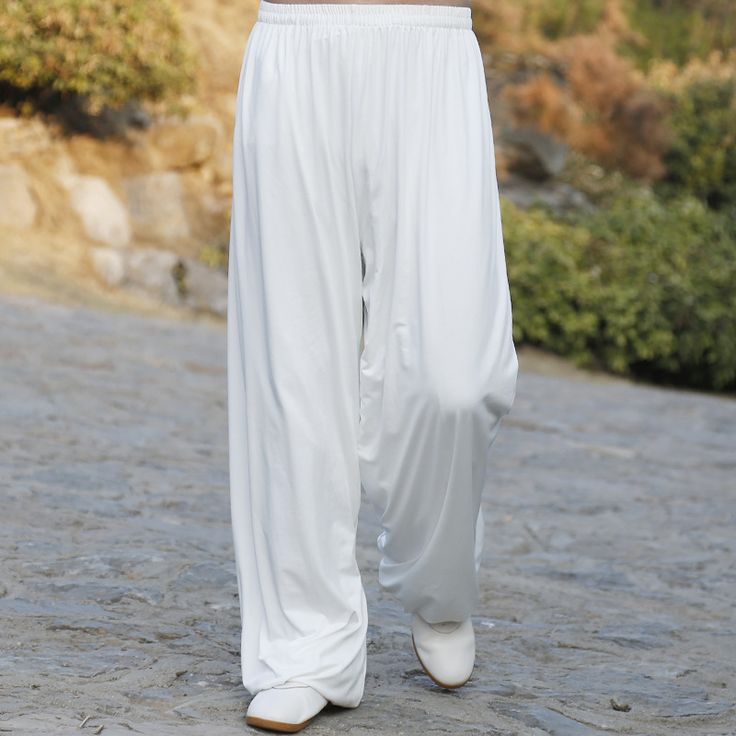 Kampfkunst Tai Chi Yoga Hosen Akrobatik hosen Kung Fu Beschnitten Hose Laufhose Männer Frauen
