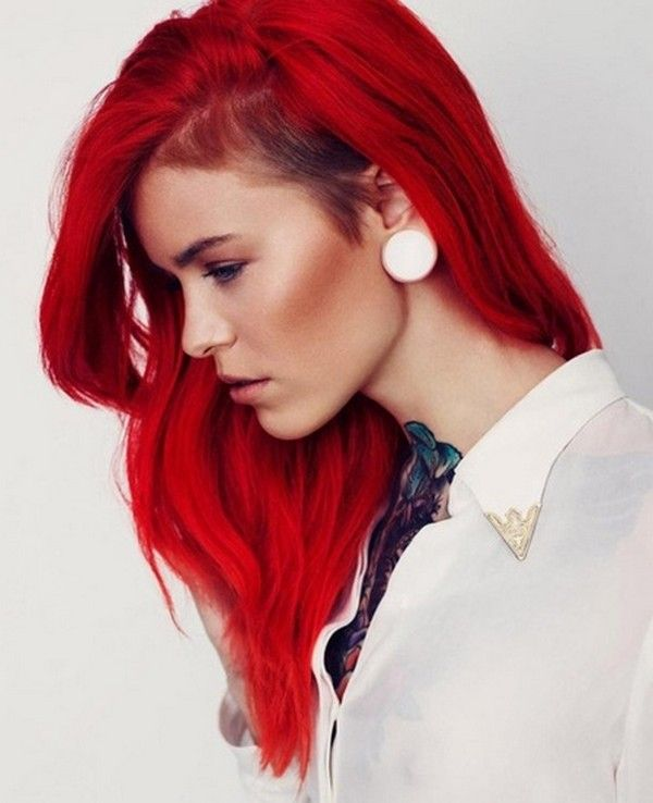 Bright Red Hair For Your Colorful Hairstyles