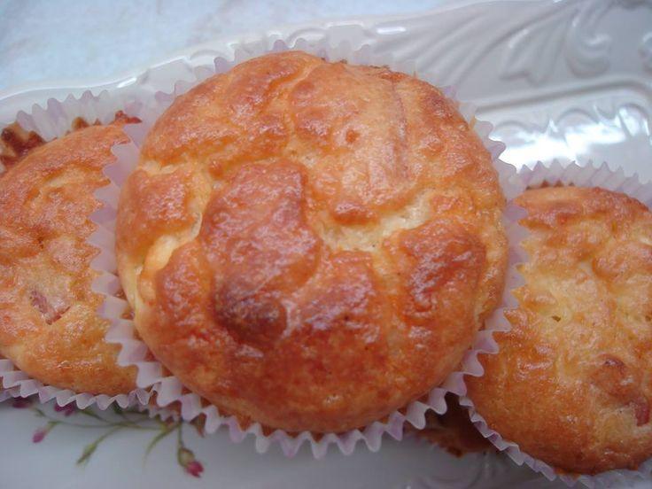 Muffins με φετα και ανθοτυρο απο τη Μαρια Μαρδα!