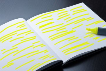 This article is interesting because it discusses the fact that highlighting and underlining text can take away from learning the subject matter - which goes against the study habits of many people.