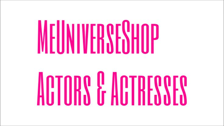 #Actors & #Actresses send your resume at webmaster@me-universe-shop.org and visit our website: MeUniverseShop