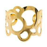 Bubble cuff  #Bubble #cuff #gold #bracelet #fall #collection