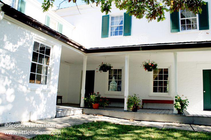Huddleston Farmhouse Museum in Cambridge City, Indiana