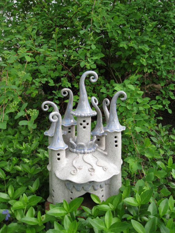 CREATE Fairy castles in CLAY