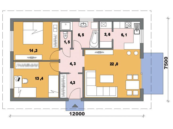 Projekt domu Opál 49/309