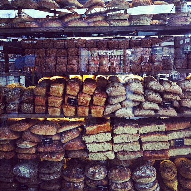 A beautiful bakery in Torvehallerne, Copenhagen. http://torvehallernekbh.dk/english
