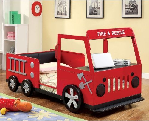 Fire truck bed.                                                                                                                                                                                 More