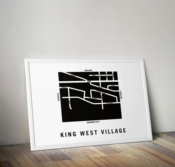 King West Village  Toronto Neighbourhood by TheHungryArtDirector