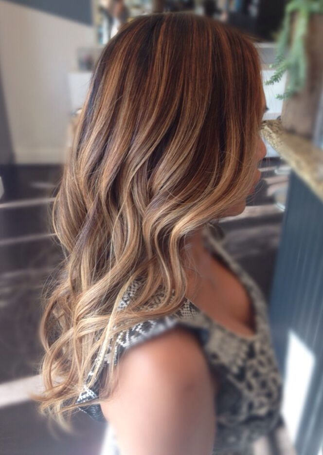 Blonde Hair Highlights Balayage Haircolor
