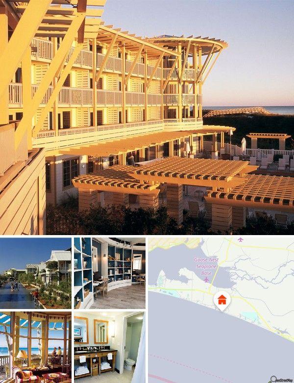 Cet établissement est situé sur la plage de Santa Rosa, près de la ville de Grayton Beach. Il se trouve en Floride dans une station balnéaire, entre la côte d'Émeraude et les lac des dunes, dans une zone résidentielle nichée abritant de nombreux magasins et restaurants.