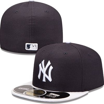detailed look f8eb3 39299 ... ireland new york yankees new era mlb diamond tech 5950 fitted hat navy  white 42a28 aa131 ...