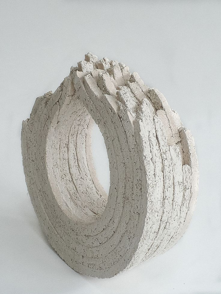 Ismet Yüksel creates massive sculptures inspired by ruins and deconstructed buildings / sornmag.com