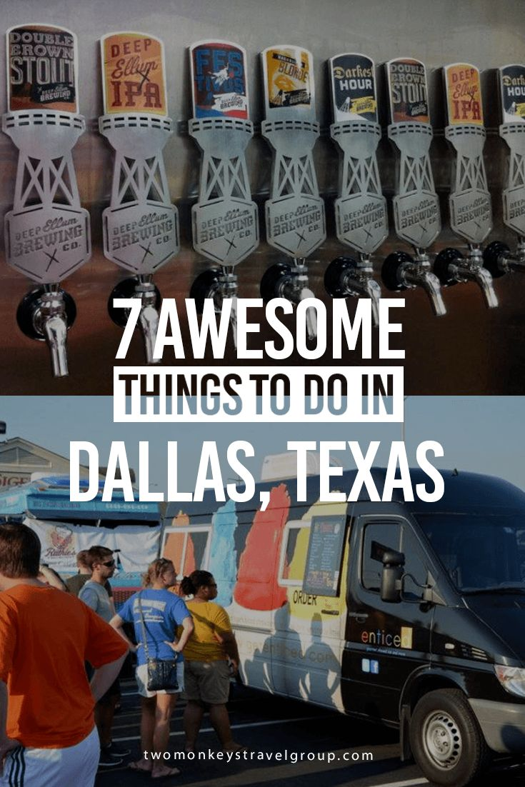 7 Awesome Things to Do in Dallas, Texas | Two Monkeys Travel Group