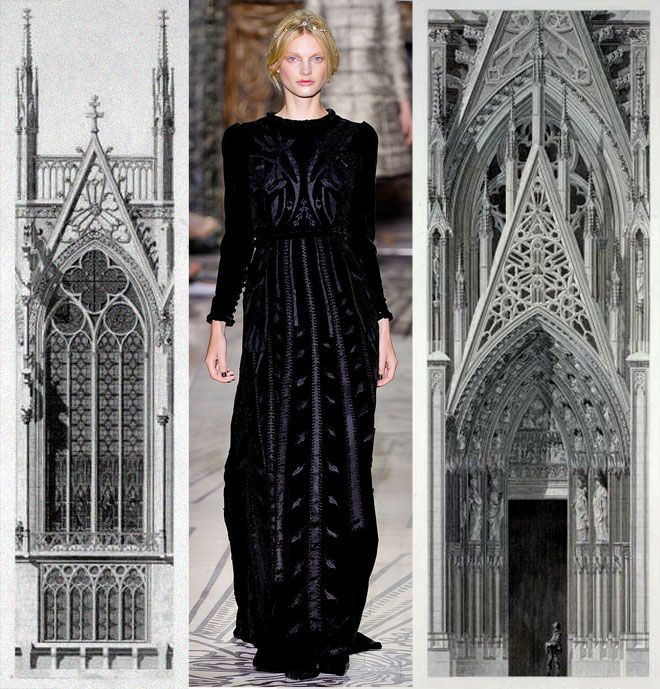 Valentino Fall Couture 2011 Bustle Medieval And Gothic