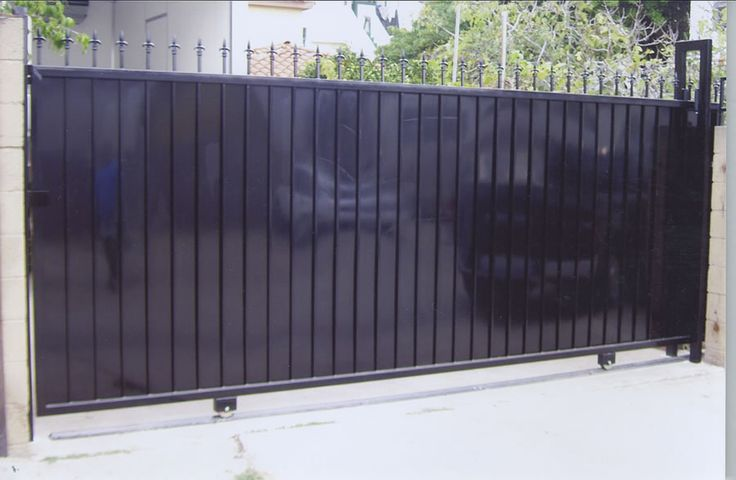 San Diego Residential Iron Privacy Driveway Gate 2 Cg