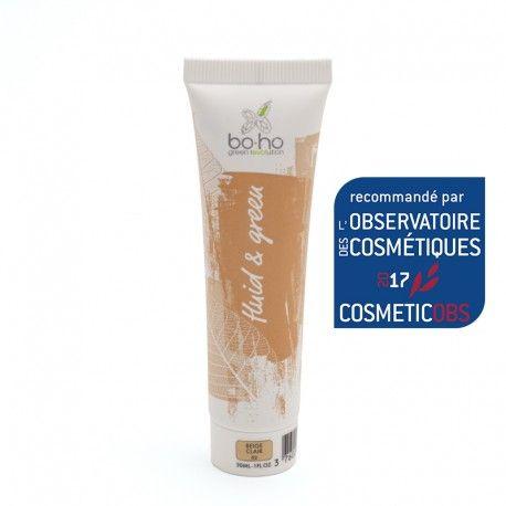 Le fond de teint fluide bio beige clair unifie le teint et masque les imperfections pour offrir un fini parfait et naturel.
