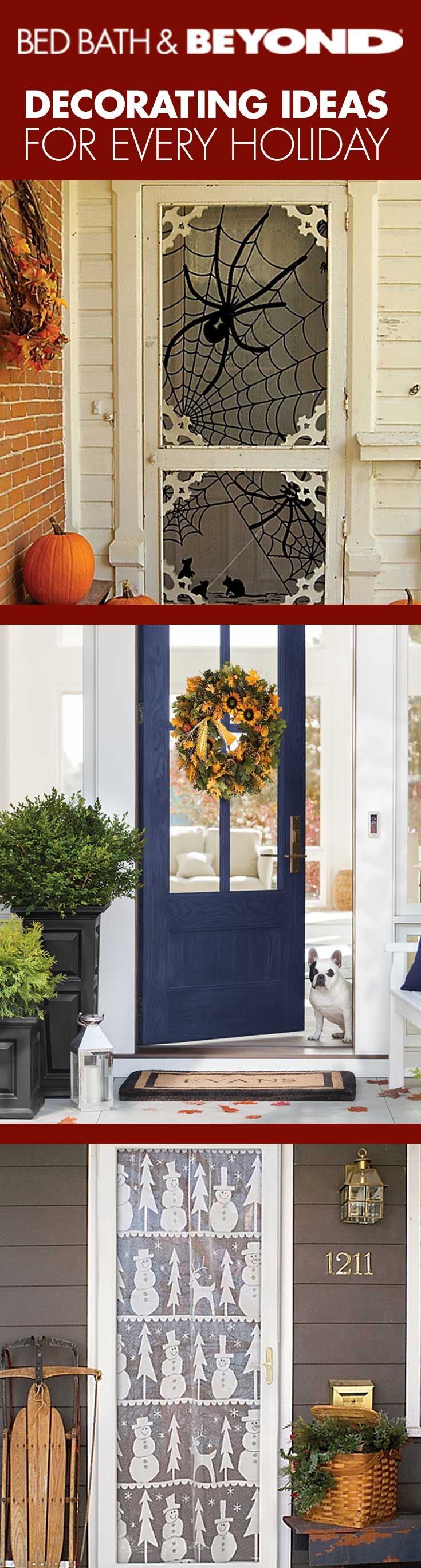 From Halloween to New Year's Day, we've got everything to make your home a holiday one.