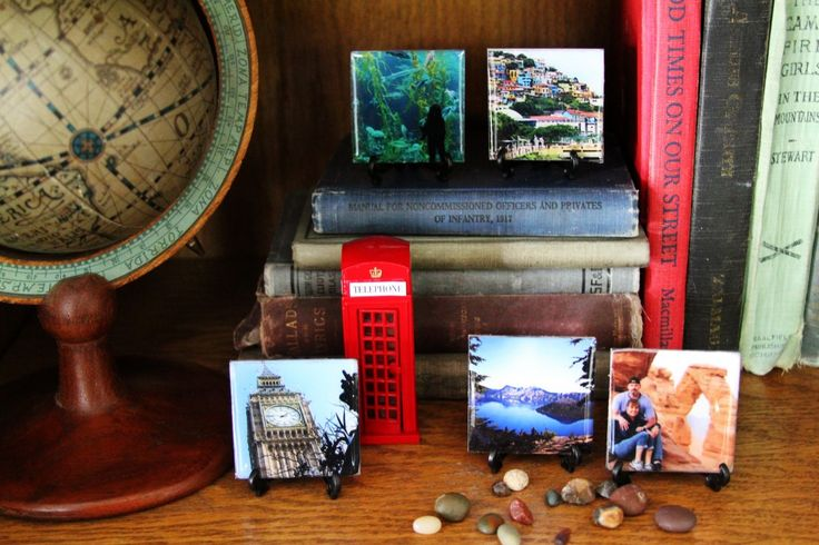 Mini Chipboard Photo Tiles