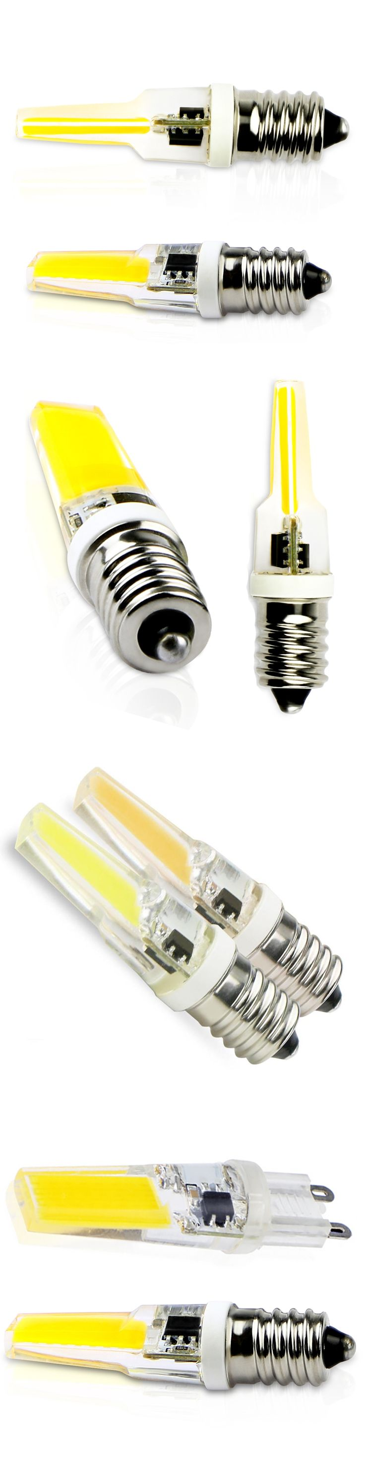 Led G9 Corn Lamps Cob E14 High Quality LED E14 Bulb AC220V 9W COB G9 LED Bulb 360 degrees replace Halogen E14 G9 for Chandelier