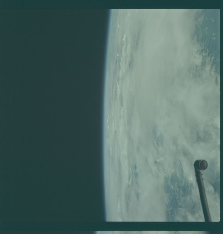 Apollo 9 Hasselblad image from film magazine 20/E - Earth orbit, EVA