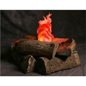 CAMPING Theme....Yes, Indoor Campfire an Artificial Flame Fake Fire great prop for Halloween or classroom.