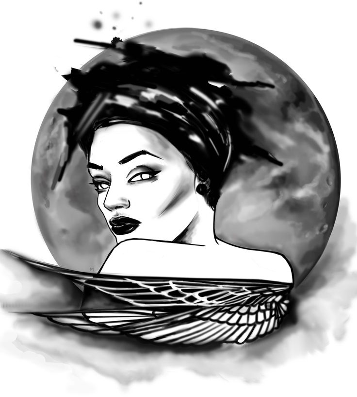 I am ready for a trip on the moon#girl#drawing#sketch# design#inspiration#moon#beauty#space
