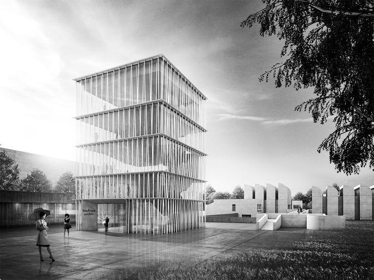 Staab architects ganan el concurso para el Archivo de la Bauhaus | METALOCUS