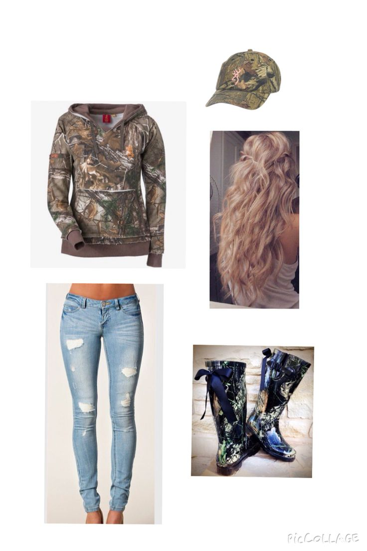 cute camo outfit :))