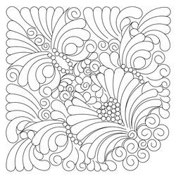 Shop | Category: Digitized patterns for Judy Niemeyer quilts | Product: AGrdn Blk 2