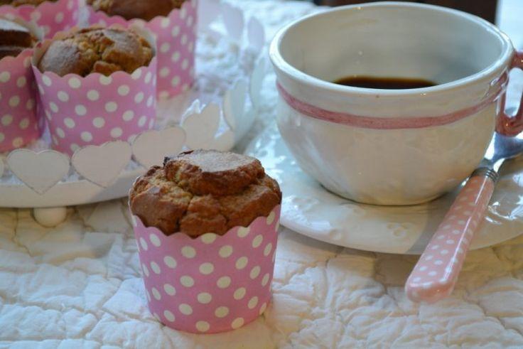 Muffin alla zucca con farina d'avena senza zucchero