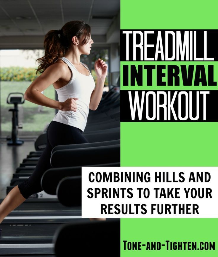 Treadmill Interval Workout from http://Tone-and-Tighten.com - you will never look at treadmills the same!
