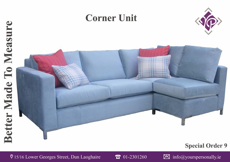 Bespoke Corner Sofa. Custom made in Yours Personally, Dun Laoghaire