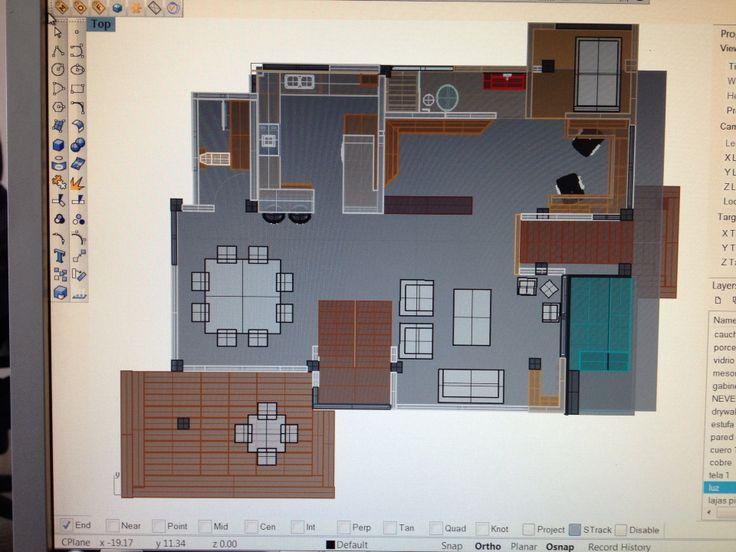 Proyecto cota plano primer piso
