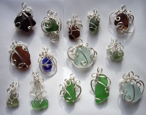 I LOVE collecting seaglass.