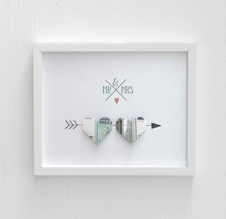 Geldgeschenke Hochzeit - wundervolle Ideen