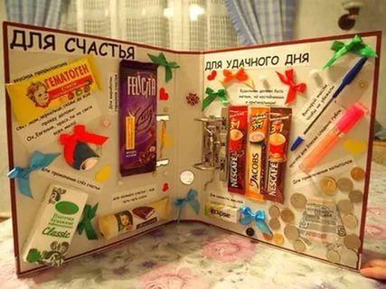 сладкий подарок на день рождения своими руками: 24 тыс изображений найдено в Яндекс.Картинках