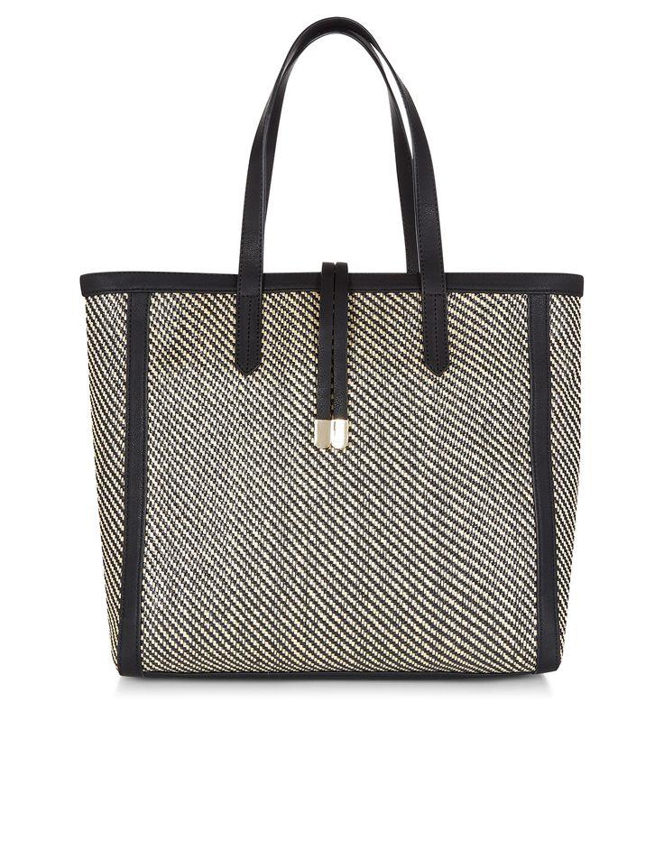 Runcorn Monochrome Woven Bag