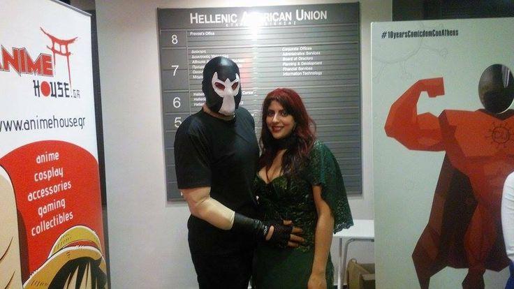poison ivy & bane diy costume cosplay halloween makeup