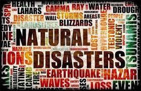 calamità naturali -