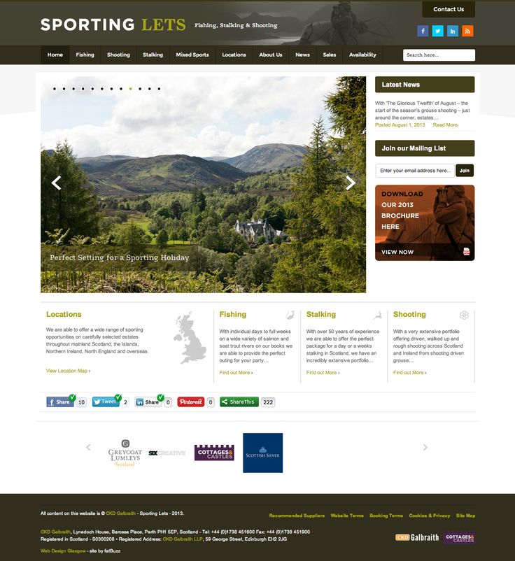 This is athe new Sporting Lets web site created by fatBuzz: http://www.sportinglets.co.uk/