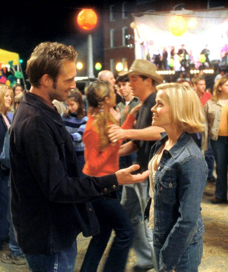 Josh Lucas and Reese Witherspoon ~ As Jake and Melanie in Sweet Home Alabama (2002) ~ The Greatest Movie Couples Ever