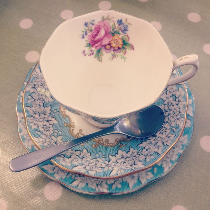 Delicate China for a builder's brew