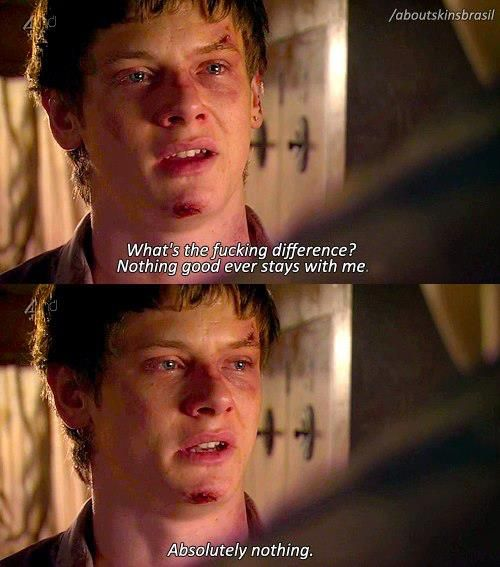 Anybody else feel they would prefer to live the life of someone from skins