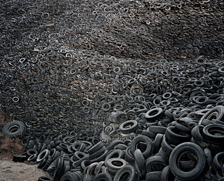 17 best images about photography andreas gursky on for Uses for old tyres