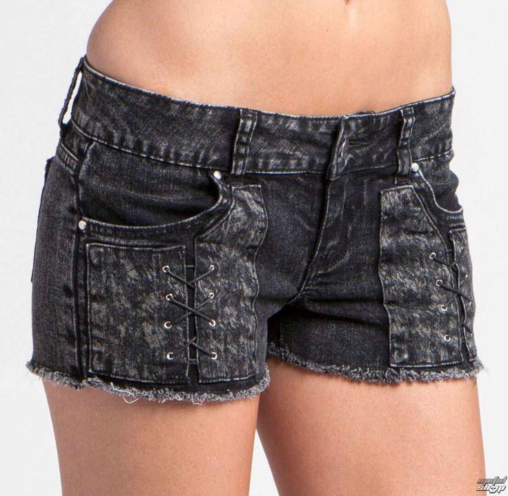 shorts women METAL MULISHA - DEAD WIRE DENIM