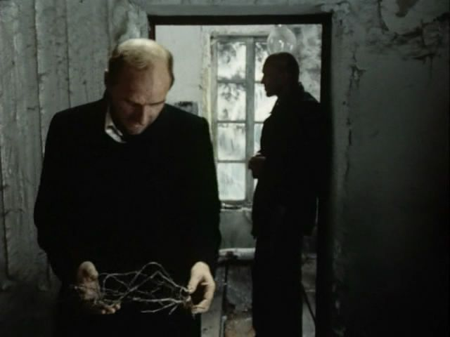 Stalker (1979)  Andrei Tarkovsky - Writer holding a crown