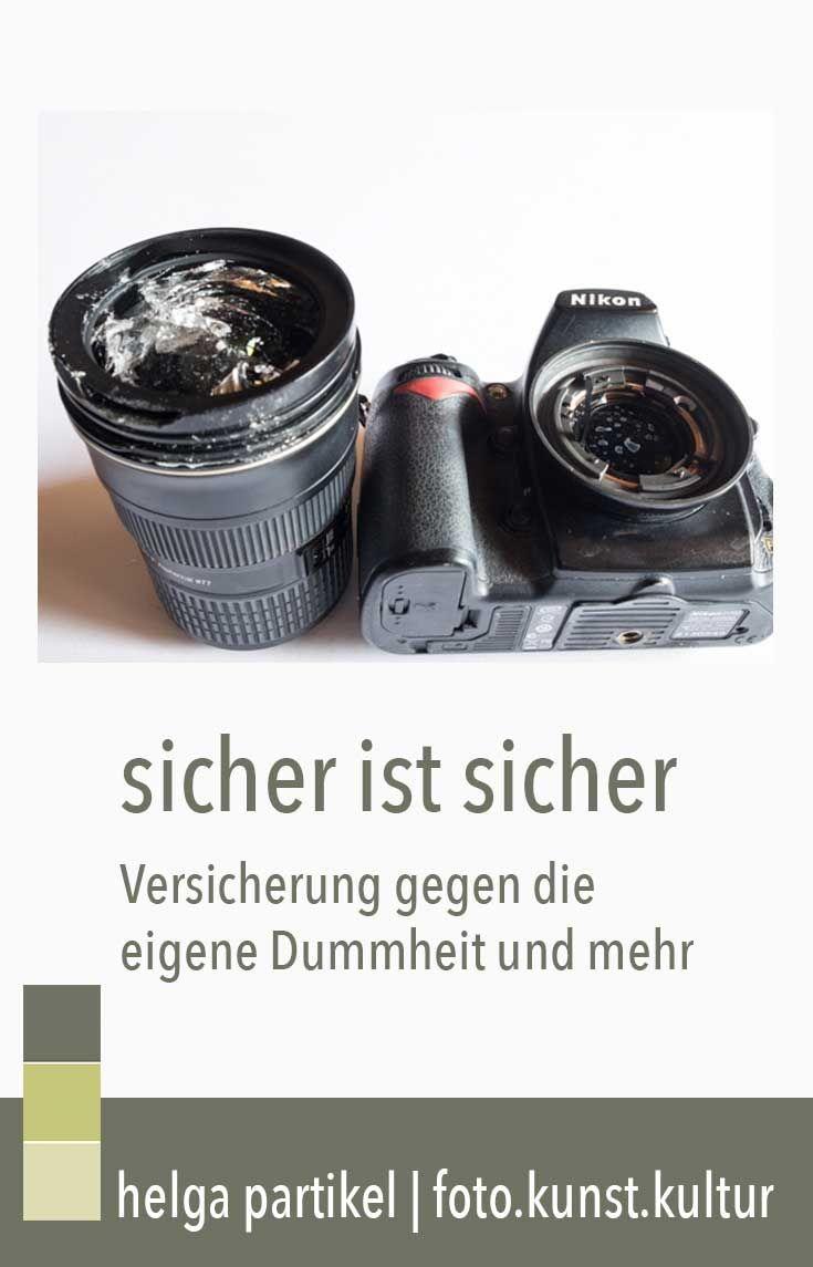 Ein Objektiv liegt schnell am Boden. Gut, wenn die Versicherung bezahlt. #fotografie #fotografieren #fotografierenlernen #fotokurs #fotokunstkultur