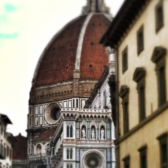 Florence- The Duomo. My favorite cathedral we saw in Italy or France. So beautiful.